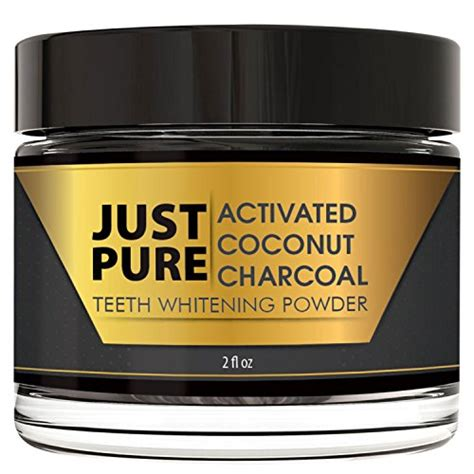 teeth whitening activated coconut charcoal powder  ozs