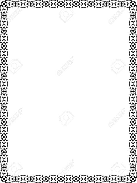 Black And White Border Free Download Clip Art - carwad.net