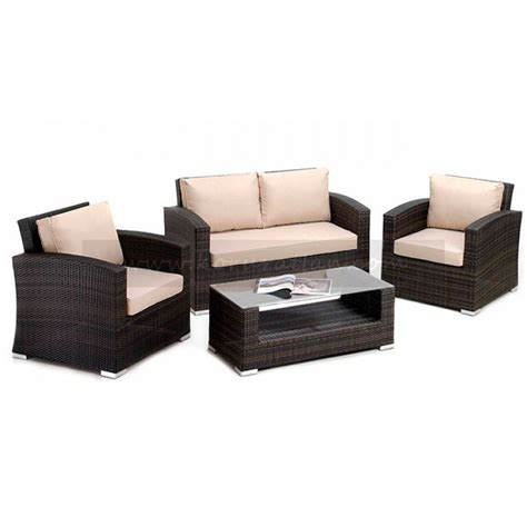 Maze Rattan Furniture Maze Rattan Kingston Sofa Set