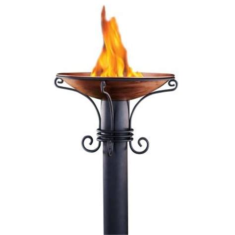 tiki heritage patio torch 1108047 the home depot