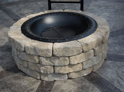 cobblestone pit diy pit decoration exterior immaculate white