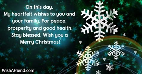 day  heartfelt wishes christmas message