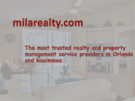 Property Management Kissimmee Fl Property Management Kissimmee