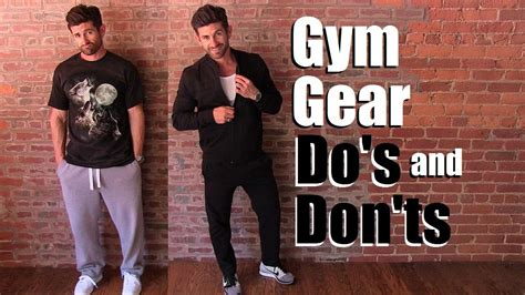 fashion dos and donts for fat women gym gear do s and don ts to not look like a douche