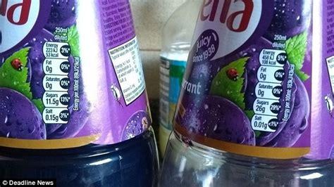 Sweetener Sucralose 100ml ribena slashes its sugar content leaving fans furious taste daily mail
