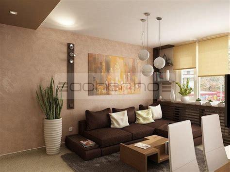Moderne Wohnzimmer Farben by Acherno Moderne Apartment Raumgestaltung In Dezenten Farben