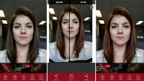 app to test hair color vs shades changer de t 234 te via la r 233 alit 233 augment 233 e