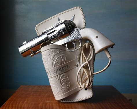Hair Dryer Holster 357 magnum hair dryer vintage novelty pistol hairdryer e