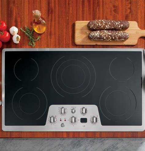 Ge 36 Cooktop Ge Caf 233 Series 36 Quot Built In Electric Cooktop Cp650stss