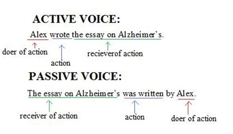 business letter passive voice or active voice active and passive voice sentences hold
