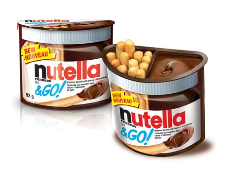 Nutella Go Nutella Go new nutella go innovative packaging for nutella