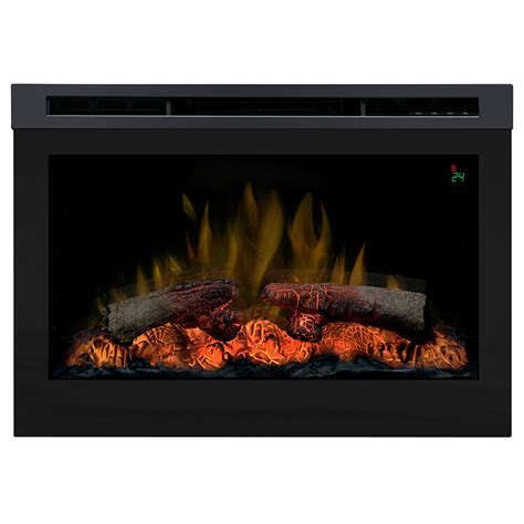 Lowes Dimplex Electric Fireplace by Shop Dimplex 25 75 In Black Electric Fireplace Firebox At