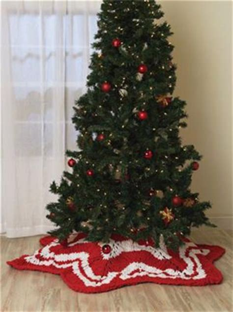 knitted tree skirt knit throw tree skirt knit and crochet
