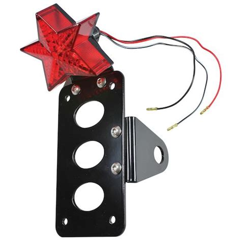 Side Mount License Plate Bracket With Light by Tc Bros Side Mount Light License Plate Bracket
