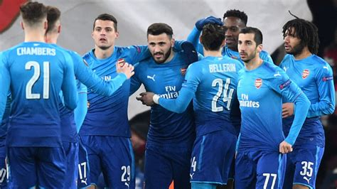 arsenal europa league arsenal drawn against ac milan in europa league last 16