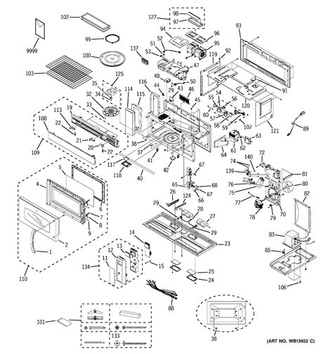 ge spacemaker microwave parts diagram ge spacemaker microwave oven model jvm3670bf07 the bottom
