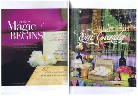 Weddingku Career by Let The Magic Begin Butterfly Event Styling