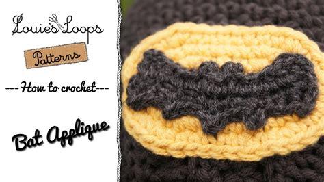 bat pattern youtube how to make a crocheted bat youtube
