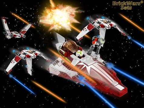 Promo Squadron X Wing Starfighter Special Set Murah brickwars sets update archive january 09 april 09