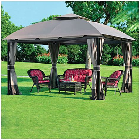 Wilson And Fisher Gazebo View Wilson Fisher 174 11 X 13 South Hton Gazebo Deals