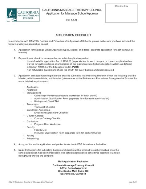 therapy california california therapy council application for school app