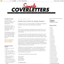 cover letter pearltrees