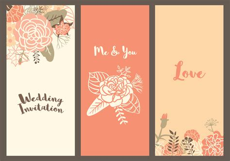 Wedding Template by Vector Carnation Wedding Templates Free Vector