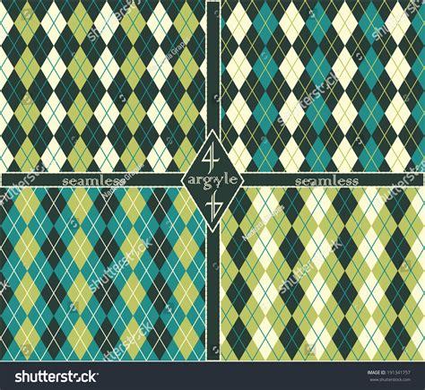 seamless argyle pattern seamless argyle pattern stock vector illustration