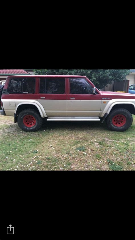 nissan patrol 1991 1991 nissan patrol for sale or swap qld brisbane south