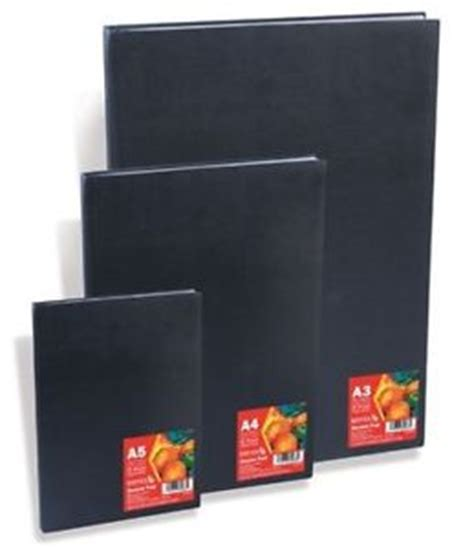 black paper sketchbook a4 reeves black hardback sketch drawing paper pad sketchbook
