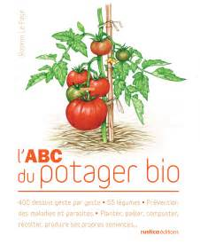 livre l abc du potager bio collection le page rosenn