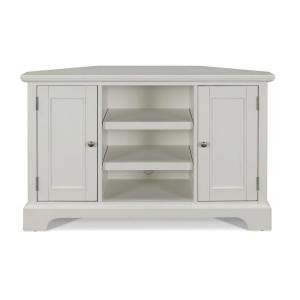 home styles naples white corner tv stand 5530 07 the