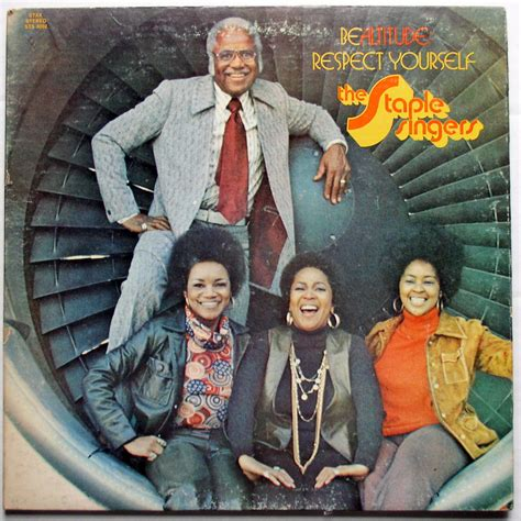 staples rubber sts staple singers be altitude respect yourself lp vg 1972