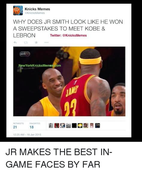 Jr Smith Meme - 25 best memes about new york knicks twitter gaming