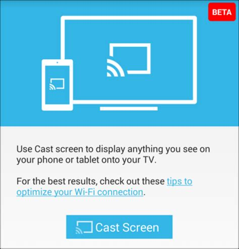 android cast screen to tv play your android and on the tv with chromecast