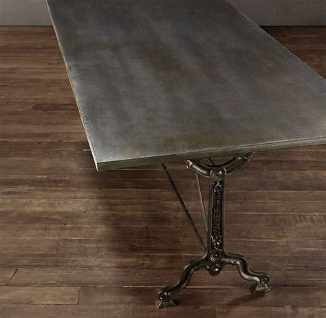 60 Quot Factory Zinc Cast Iron Rectangular Dining Table 60