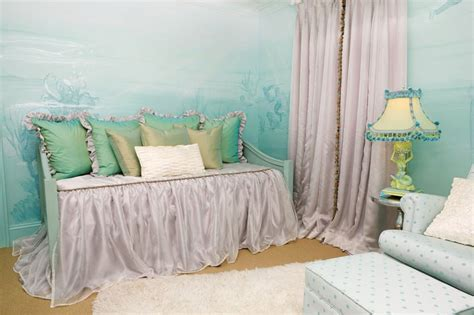 mermaid inspired bedroom mermaid inspired child s room mommy scene