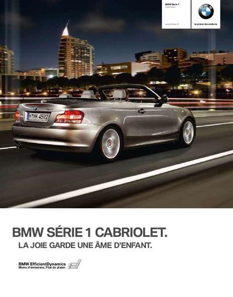 Bmw Serie 1 Cabrio Problemi by Notice Bmw S 201 Rie 1 Cabriolet Voiture Trouver Une