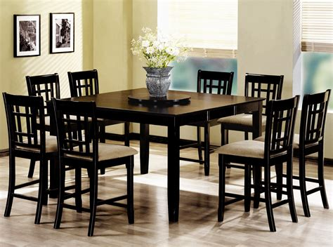 counter height dining table set counter height dinette sets homesfeed