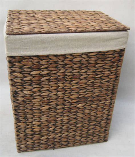 12081 Seagrass Laundry Basket Handicraft Manufacturer Seagrass Laundry