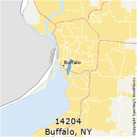buffalo ny zip code map best places to live in buffalo zip 14204 new york