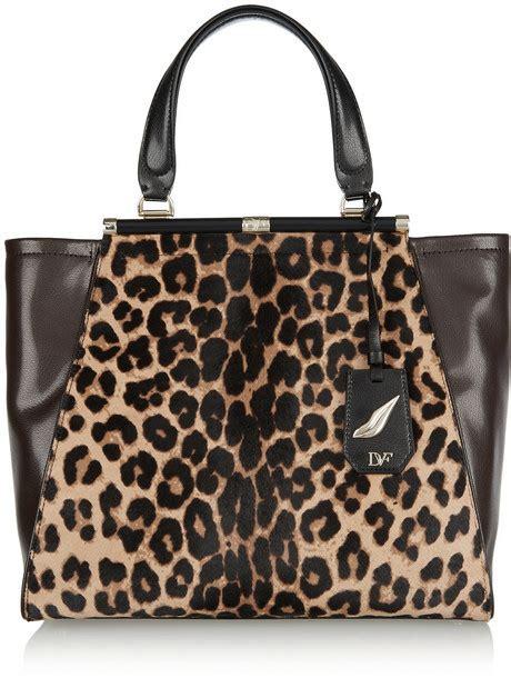 Tas Diane Furstenberg Asli Ori Calfskin Leather Bag diane furstenberg runway calf hair and leather tote where to buy how to wear
