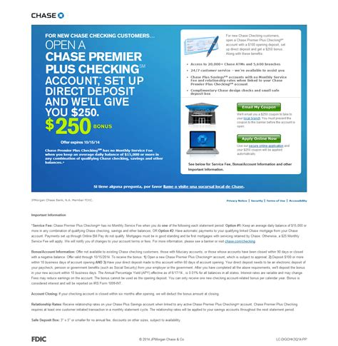 open a direct bank account premier checking 250 coupon code bonus doctor of
