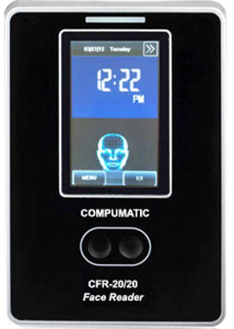 compumatic cfr 20/20 biometric face reader facial