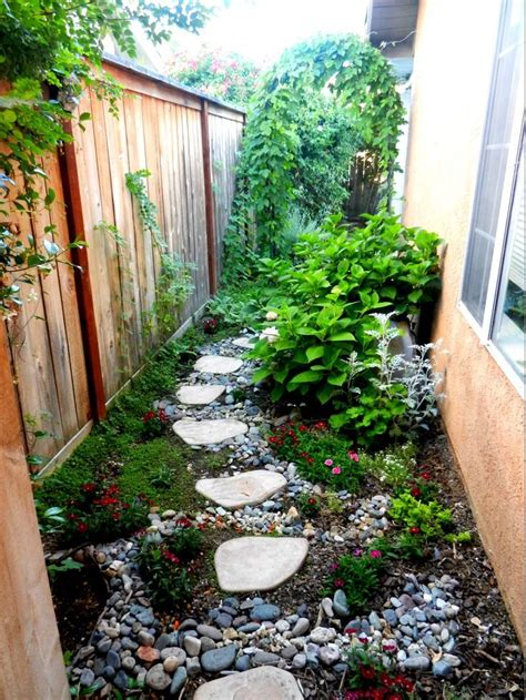 narrow backyard landscaping ideas narrow side yard landscaping ideas car interior design
