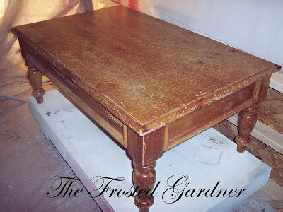 refinish coffee table the frosted gardner the petersen coffee table custom