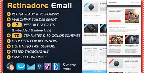 18 Mobile Friendly Newsletter Templates Free Email Templates Mobile Friendly Newsletter Templates