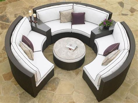 circular outdoor sofas outdoor sofas and chairs circular outdoor patio furniture