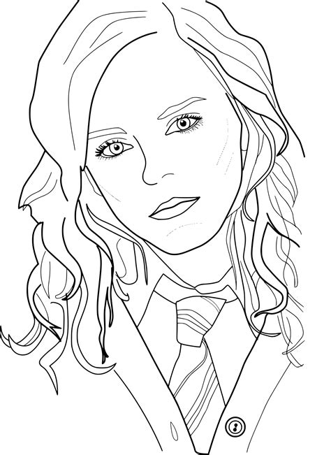 Hermione Coloring Pages hermione grangers name coloring pages coloring pages