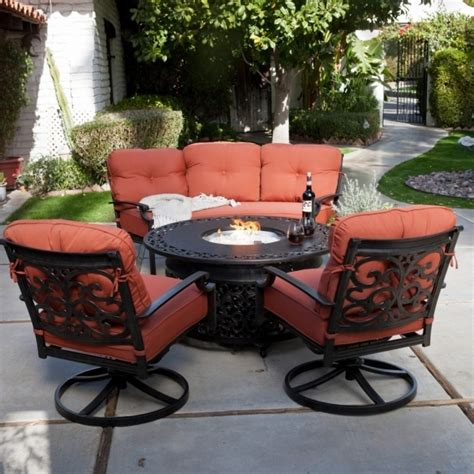 alluring sams club patio set with fire pit outdoor patio